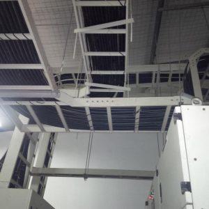 Hệ thống thang cáp sử dụng Co Ngang