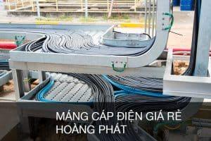 Máng cáp điện giá rẻ Hoàng Phát