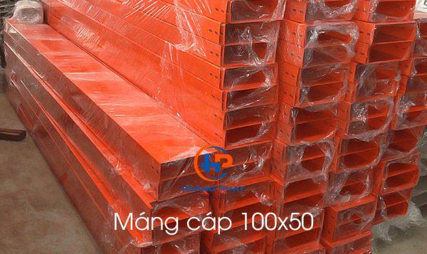 Máng cáp 100x50 Hoàng Phát
