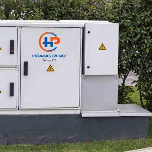 Vỏ tủ điện ngoài trời ở chung cư