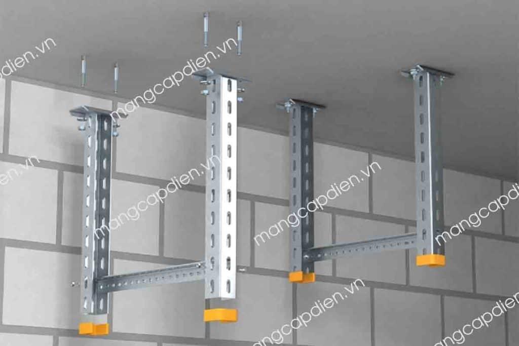 Đà ngang ốp trần hệ thống thang máng cáp