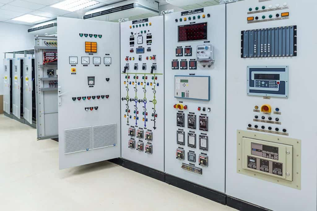 Tủ điện Công Nghiệp Hoàng Phát được sử dụng trong 1 công trình