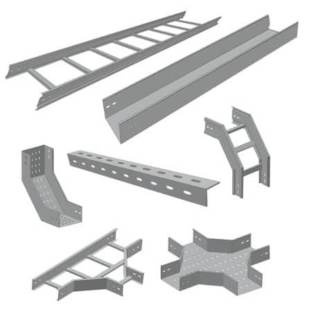 Thang máng cáp là vật dụng được sử dụng vô cùng rộng rãi trong nhiều công trình hiện nay