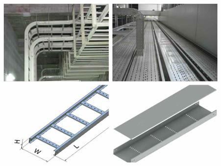 Thang máng cáp được thiết kế kích thước đa dạng phù hợp với nhiều nhu cầu sử dụng