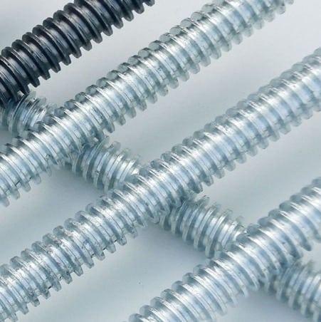 Thanh ty ren được sản xuất với kích thước và đường kính đa dạng
